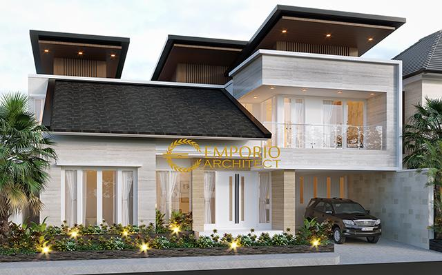 Mr. Himawan Modern House 2 Floors Design - Surabaya