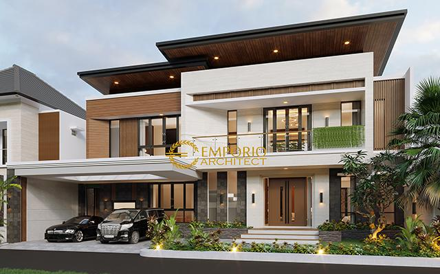 Mr. Julian Modern House 2 Floors Design - Palembang, Sumatera Selatan