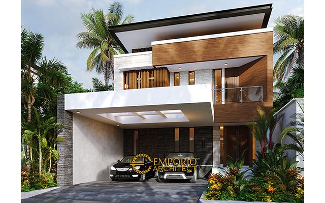 Mr. Nicolas Modern House 2 Floors Design - Makassar, Sulawesi Selatan
