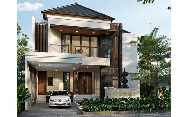 Desain Rumah Modern 2 Lantai Bapak Wijaya di  Bali