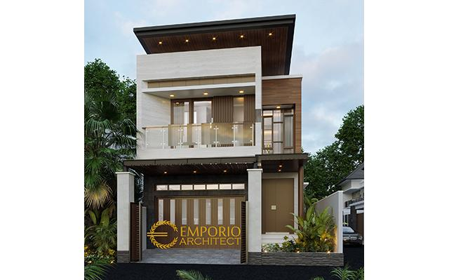 Mrs. Silvi Modern House 2 Floors Design - Surabaya