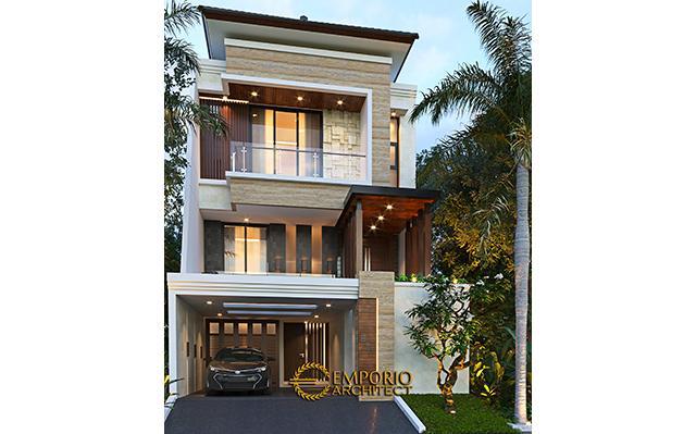Mrs. Devi Modern House 2.5 Floors Design - Jakarta