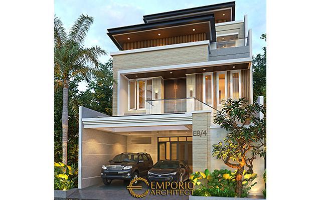 Mrs. Stephanie Modern House 3 Floors Design - Jakarta Barat
