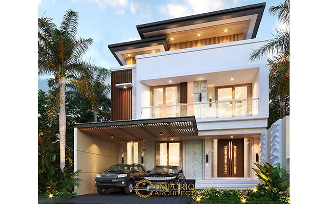 Desain Rumah Modern 3 Lantai Ibu Desi di  Makassar, Sulawesi Selatan