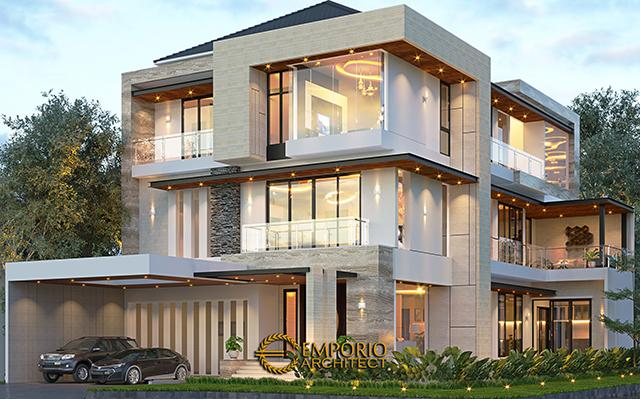 Mr. Wijaya Modern House 3 Floors Design - PIK, Jakarta
