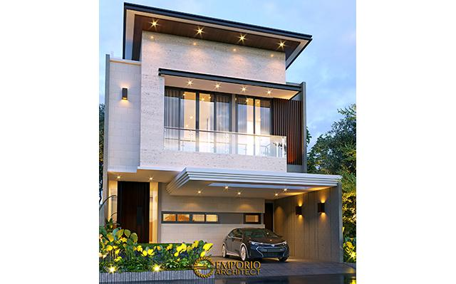 Mr. Anton Modern House 3 Floors Design - Jakarta