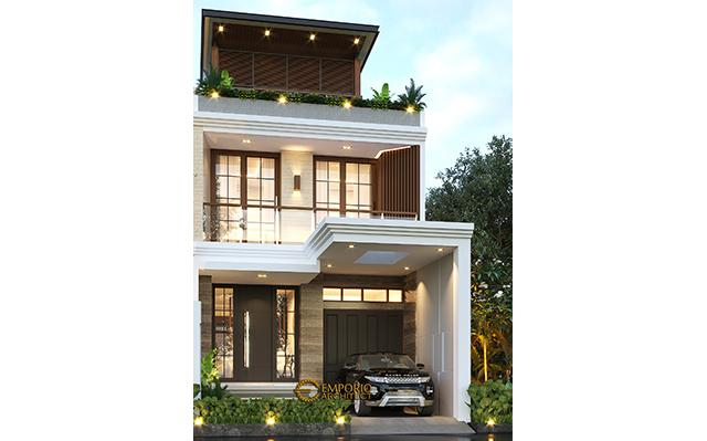 Mrs. Liza Fitria Modern House 3 Floors Design - Bukittinggi, Sumatera Barat