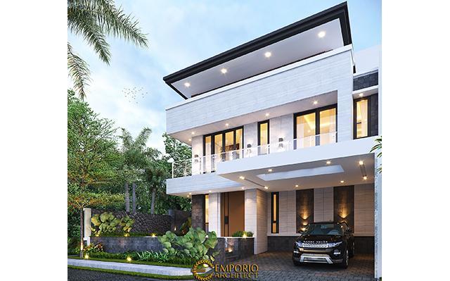 Desain Rumah Modern 3 Lantai Bapak Juliawan di  Kendari, Sulawesi Tenggara