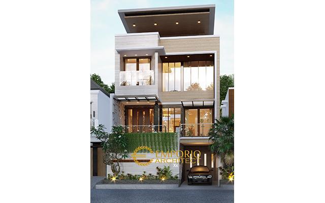 Mr. Angga Modern House 3 Floors Design - Surabaya, Jawa Timur