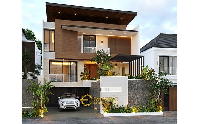 Mr. Victor Modern House 3 Floors Design - Jakarta