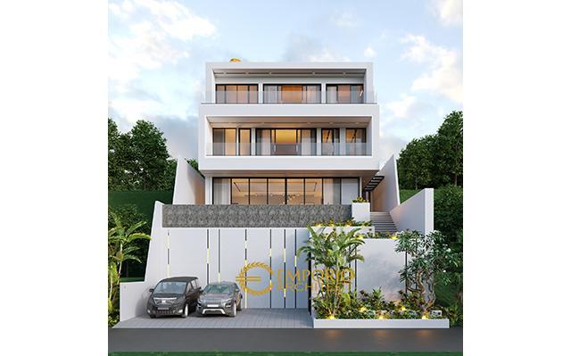 Desain Rumah Modern 3 Lantai Ibu Connie di  Bogor, Jawa Barat