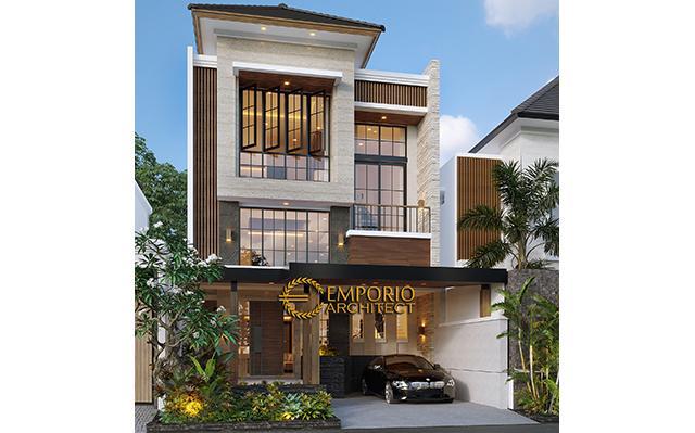 Mrs. Eli Modern House 3 Floors Design - Bekasi, Jawa Barat