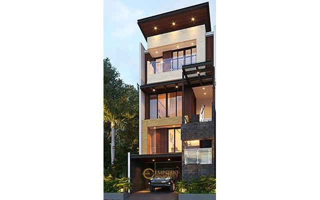 Mr. Doddy Modern House 3.5 Floors Design - Jakarta Utara