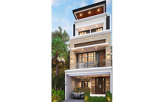 Mr. Alex Modern House 3.5 Floors Design - Jakarta