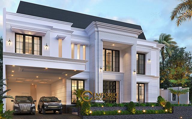 Mr. Anthony Modern Classic House 2 Floors Design - Jakarta Barat
