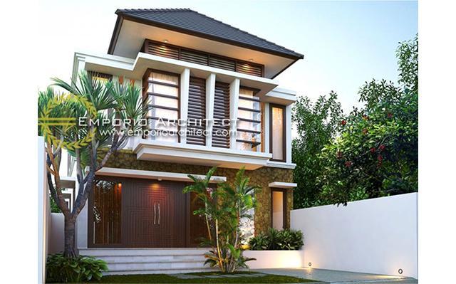 Mr. Nawan Villa Bali House 2 Floors Design - Bali