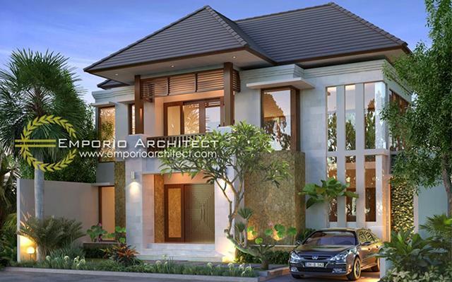 Mrs. Rhona Villa Bali House 2 Floors Design - Jimbaran, Bali