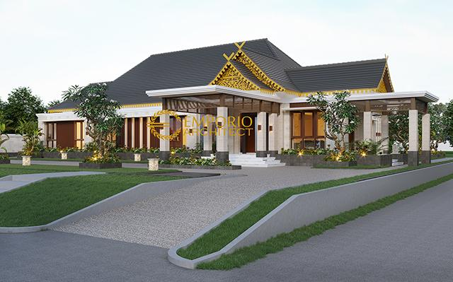 Mrs. Mila Traditional House 1 Floor Design - Jambi