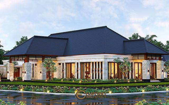 Mr. Asep Villa Bali House 1 Floor Design - Serang, Banten