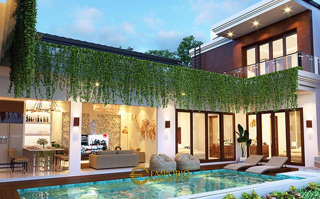 Mr. Gilbert Villa Bali House 2 Floors Design - Bali
