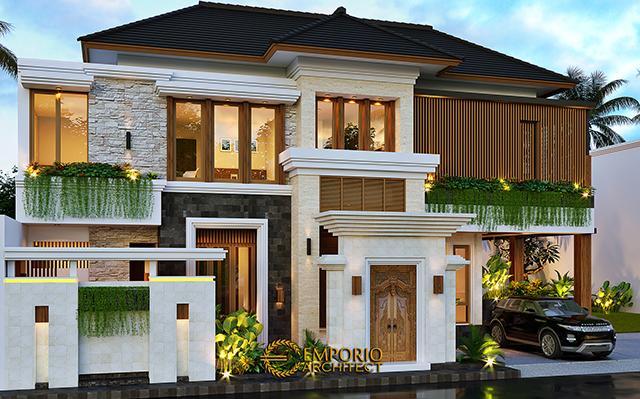 Mr. Anang Villa Bali House 2 Floors Design - Yogyakarta