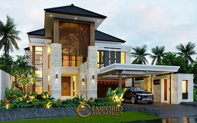 Mr. Reno Villa Bali House 2 Floors Design - Bandung, Jawa Barat