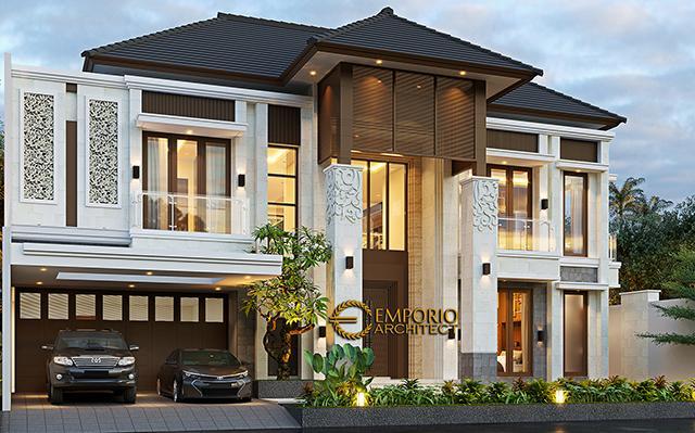 Desain Rumah Villa Bali 2 Lantai Ibu Lastri di  Cikarang, Bekasi, Jawa Barat