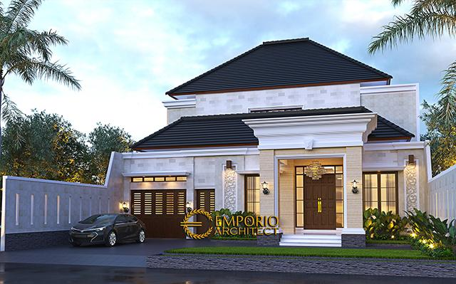 Mr. Harun Villa Bali House 2 Floors Design - Binjai, Sumatera Utara