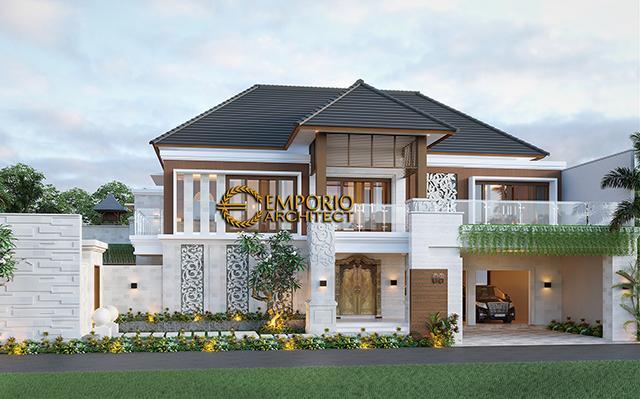 Desain Rumah Villa Bali 2 Lantai dr. Ngurah Eka di  Denpasar, Bali