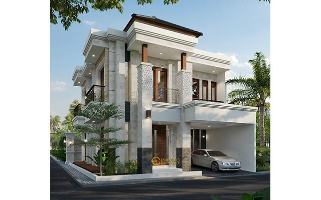 Mr. Toni Villa Bali Classic House 2 Floors Design - Batam