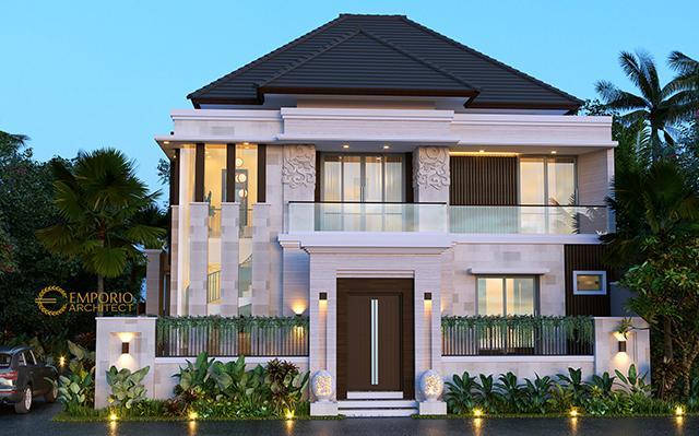 Desain Rumah Villa Bali Modern 2 Lantai Ibu Emi II di  Medan, Sumatera Utara
