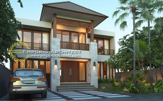 Mrs. Vina Villa Bali House 2 Floors Design - Denpasar, Bali