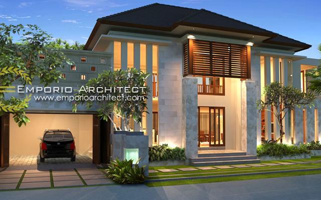 Mr. Wijaya Villa Bali House 2 Floors Design - Denpasar, Bali