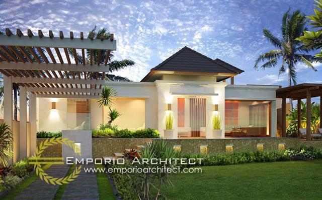 Amarilis Villa 1 Floor Design - Denpasar, Bali