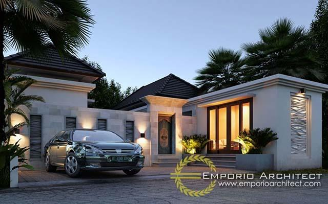 Mr. Ardita Villa 1 Floor Design - Sunset Road, Bali