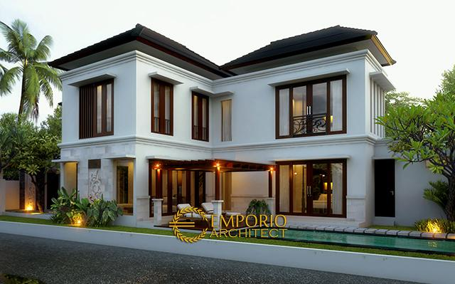 Mr. Ishak Tayeb Villa 2 Floors Design - Kerobokan, Bali