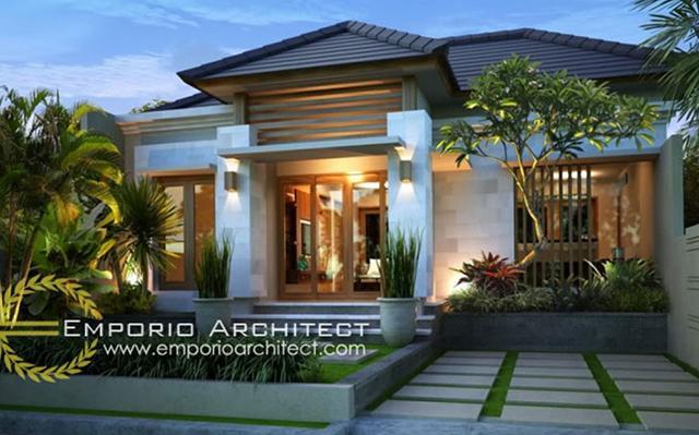 Villa Garden Residence 1 Floor Design - Singaraja, Bali