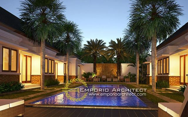 Mr. Gede Agus Villa 1 Floor Design - Kerobokan, Bali