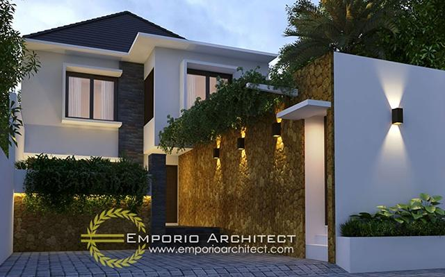 Mr. Gede Arya Villa 2 Floors Design - Denpasar, Bali