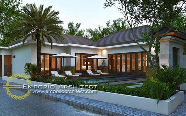 Mrs. Juliati Villa 1 Floor Design - Gianyar, Bali