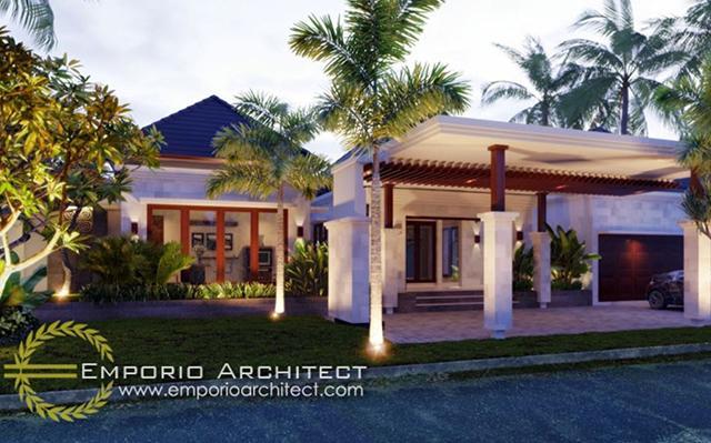 Mrs. Theresia Villa 1 Floor Design - Bogor, Jawa Barat