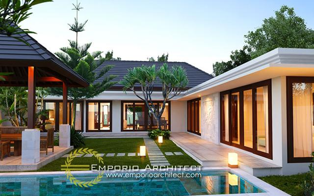 Mr. Sandy Villa 1 Floor Design - Tabanan, Bali
