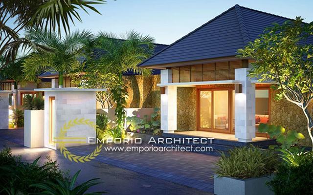 Volcom Kenanga Villas 1 Floor Design - Jimbaran, Bali