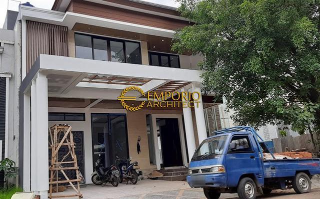 Construction Progress of Mrs. Andika Private House - BSD, Tangerang, Banten