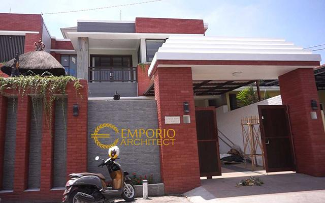 Construction Progress of Mr. Arka Private House - Denpasar, Bali