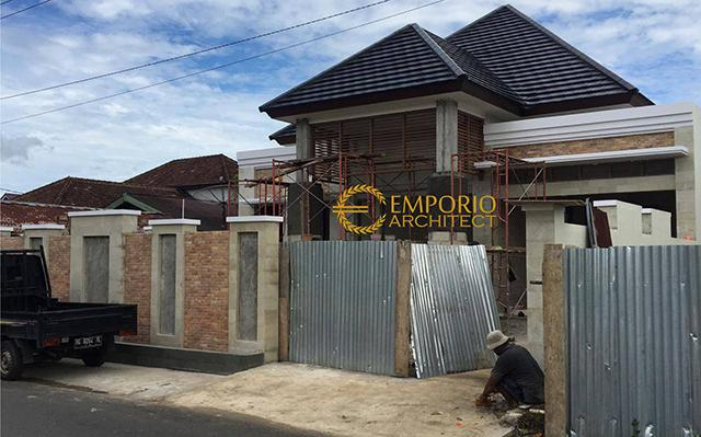 Construction Progress of Mr. Ammal Rozib Private House - Sumatera Selatan