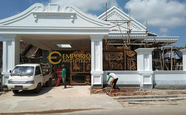Construction Progress of Mr. Reza Private House - Lampung