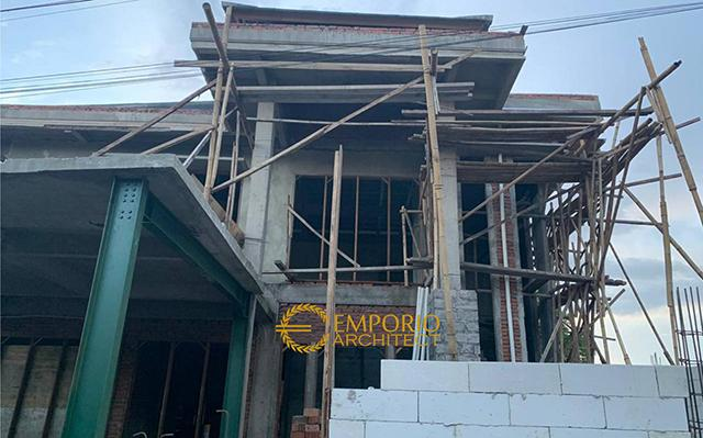 Construction Progress of Mr. Rivan Private House - Nusa Dua, Bali