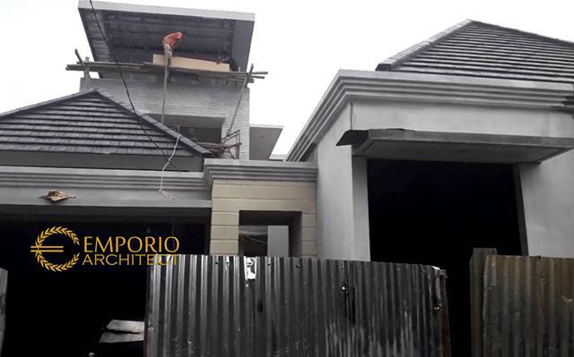 Construction Progress of Mr. Tim & Mrs. Villa - Bintaro, Jakarta Selatan