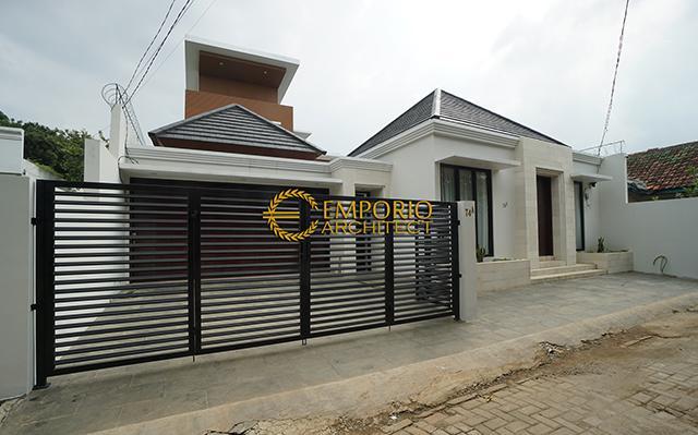 Hasil Konstruksi Rumah Mr. Tim dan Mrs. Villa di  Bintaro, Jakarta Selatan